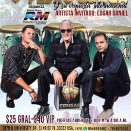 Image for Pedro Conga y Su Orquesta en Sunrise,FL POSTPONED