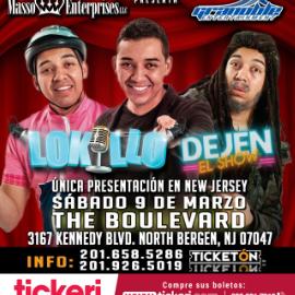 """Image for Lokillo y Su Nuevo Show """"Dejen El Show"""" en Union City,NJ"""