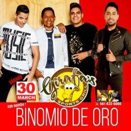 Image for BINOMIO de ORO en Concierto en GIRAFA'S !!!