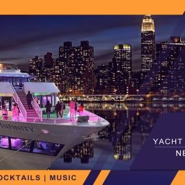 Image for LATIN BRAZILIAN YACHT CRUISE PARTY NEW YORK CITY | Skyline views cocktail & music
