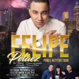 Image for FELIPE PELAEZ EN ATLANTA PONLE ACTITUD TOUR
