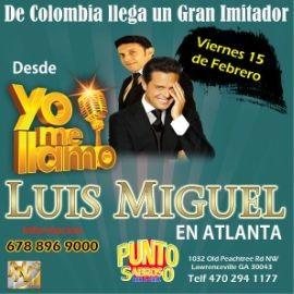 """Image for LUIS MIGUEL EN ATLANTA DE """"YO ME LLAMO"""" 15 de FEBRERO"""