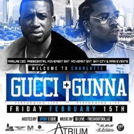 Image for All Star Weekend Kickoff Gucci & Gunna Live At Atrium