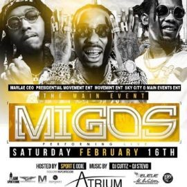 Image for All Star Weekend Migos Live at Atrium