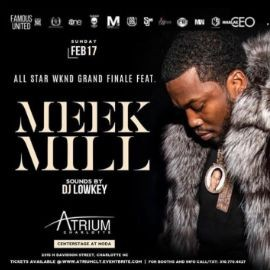 Image for All Star Weekend Grand Finale Meek Mill Live At Atrium