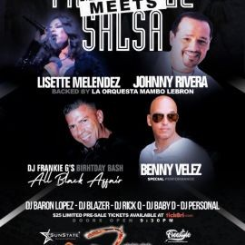 Image for Freestyle Meets Salsa Featuring Johnny Rivera & Lisette Melendez