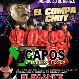 Image for El Compa Chuy & Los Capos de Mexico en Camden,NJ