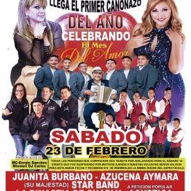 Image for Primer Cañonazo del Año con Juanita Burbano, Azucena Aymara, La Dinastia de Charly, Star Band y mas en Newak.NJ