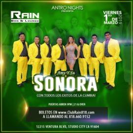 Image for LA SONORA de Amy en CLUB RAIN