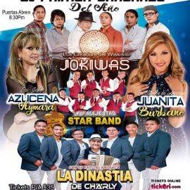 Image for EL PRIMER CAÑONAZO DEL AÑO con Jokiwas, Azucena Aymara, Juanita Burbano, La Dinastia de Charyl y Star Band