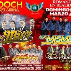 Image for Los Mier, Los Mismos & Los Chulos Chulos en Wendell,NC