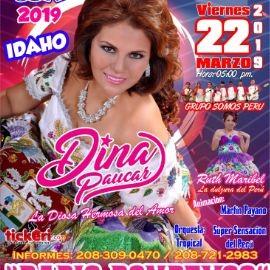 """Image for Dina Paucar """"La Diosa Hermosa del Amor"""" en Twin Falls,ID"""