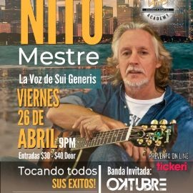 Image for Nito Mestre en Houston Texas