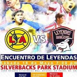 Image for Encuentro de Leyendas - LA vs.Leyendas de Guadalajara en Atlanta,GA
