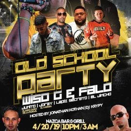 "Image for OLD SCHOOL PARTY WITH ""FALO"" & ""WISO G"""
