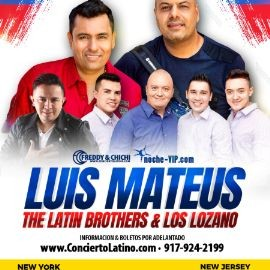 Image for VALLENATO - SALSA Y CUMBIA CON LUIS MATEUS, LOS LATIN BROTHERS Y LOS LOZANO EN NEW JERSEY