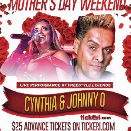 Image for FREESTYLE LEGENDS CYNTHIA AND JOHNNY O PERFORMING LIVE