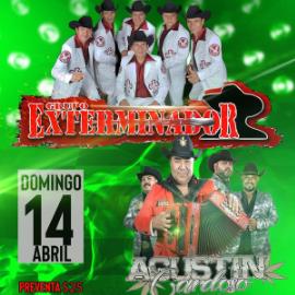 Image for Grupo Exterminador y Agustin Cardoso en Concierto en Gilroy, CA