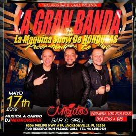 Image for La Gran Banda La Maquina Show de Hondura en Concierto en Jacksonville,FL