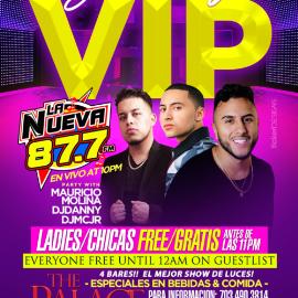 Image for Sabados VIP con Mauricio Molina, Dj Danny & Dj MCJR