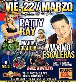 Image for Patty Ray,Maximo Escaleras en Concierto en Jackson Hts,NY