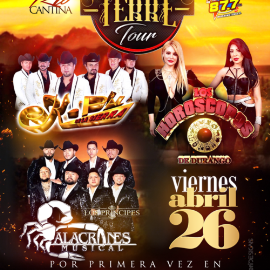 Image for Arriba el Terre Tour con K-Paz De La Sierra, Los Horoscopos de Durango & Alacranes Musical en Sterling,VA