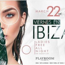 Image for Viernes En Ibiza At Playroom NYC