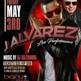 Image for J Alvarez Live At Baru Lounge
