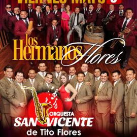 Image for LOS HERMANOS FLORES Y ORQUESTA SAN VICENTE EN LOS ANGELES