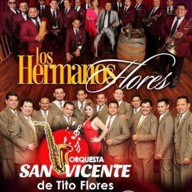 Image for Los Hermanos Flores y Orquesta San Vicente de Tito Flores en Concierto en San Francisco,CA