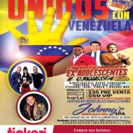 """Image for """"Las Voces Originales"""" Los Adolescentes y Orquesta en Concierto en Lawrenceville,GA. Unidos Con Venezuela"""
