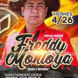 Image for MUSICA POPULAR: FREDY MONTOYA en Concierto !!