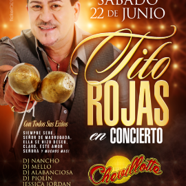 Image for Tito Rojas  en Concierto en Jackson Heights,NY