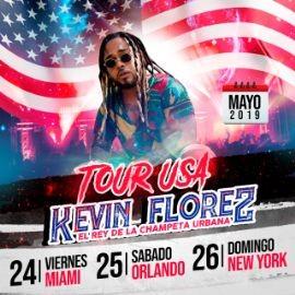 Image for Tour Usa Kevin Florez El Rey de La Champeta Urbana en Miami,FL