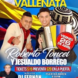 Image for Roberto Toncel & Jesualdo Borrego en Concierto en Elizabeth,NJ