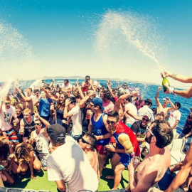 Image for NJ Spring Break Boat Party at Queen of Hearts Liberty Harbor Marina 2019