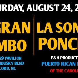 Image for E&A Puerto Rican Festival of the Carolinas TM Featuring El Gran Combo, La Sonora Ponceña and much more!