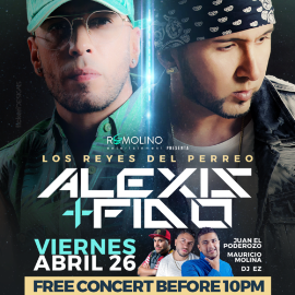Image for Alexis y Fido Los Reyes del Perreo!!  Live @ The Palace