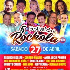 Image for FESTIVAL DE LA ROCKOLA NEW YORK - SEGUNDO ROSERO, CLAUDIO VALLEJO, ANITA LUCIA PROAÑO, HERMANOS NUÑEZ, CECILIO ALVA, KIKE VEGA, ROBERTO CALERO