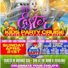 Image for Easter Kids Boat Party Cruise (6:00 PM-8:30 PM)