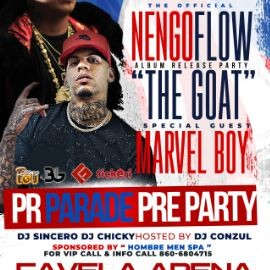 Image for Nengo Flow official Album Puerto Rican Day Parade Pre- Party with Special Guest Marvel Boy