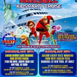 Image for Incredible Kids Party Cruise (3:00pm-5:30pm)
