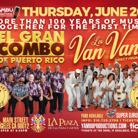 Image for El Gran Combo de Puerto Rico & Los Van Van de Cuba (TOGETHER FOR THE FIRST TIME IN U.S. HISTORY)