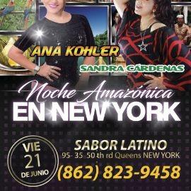 Image for Ana Kohler y Sandra Cardenas en Concierto en Queens,NY