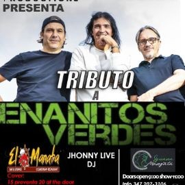 Image for Tributo a Enanitos Verdes con Dj Jhonny Live en Ridgewood,NY CANCELADO
