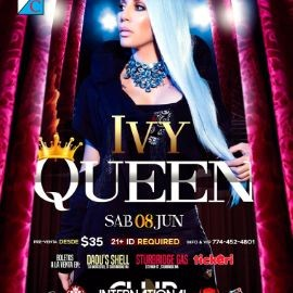 "Image for Ivy Queen ""La Diva"" @InternationalClub, Southbridge MA"