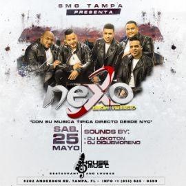 """Image for Nexo """"El Clan Perfecto"""" con su música tipica live in concert"""