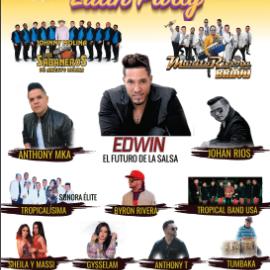Image for Summer Latin Party with Jhonny Molina & Los Sabanero de Aniceto Molina, Anthony MKA, Edwin El Futuro De La Salsa & Mas en Humble,TX