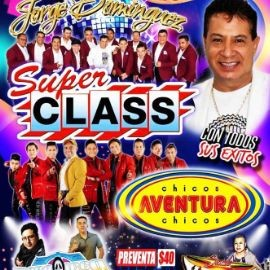 Image for JORGE DOMINGUEZ SUPER CLASS Y CHICOS AVENTURA LA SENSACION