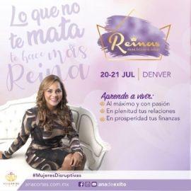Image for Reinas,Ricas,Felices y Sabias, por Ana Cortes en Thornton,CO